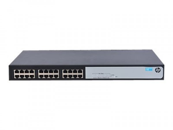 HP HPE 1420 24G  Switch [24 ports 10/100/1000 , L2 Unmanaged]