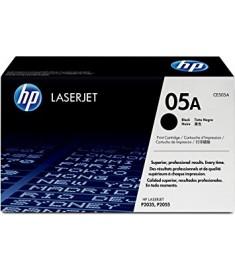 HP LaserJet CE505A Black Print