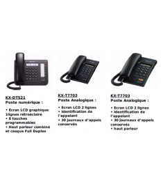 PACK PANASONIC KX-NS500
