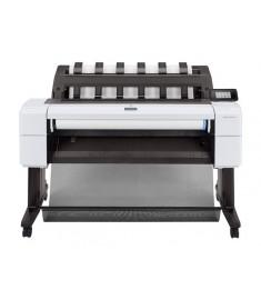 HP DesignJet T1600 36-in Printer  - 180 A1/hr, 19.3 sec/A1 - 2400 x 1200 dpi - Mémoire 128 Gb - HDD 500 Gb - Réseau -