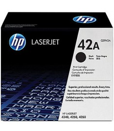 HP LaserJet Q5942A Black Print