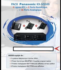 PACK PANASONIC KX-NS500