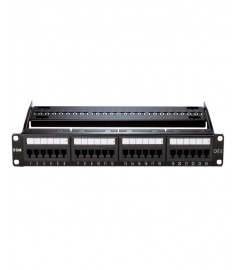 D-Link NPP-C61BLK241 Cat6 UTP Full Loaded Patch Panel