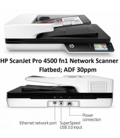 HP Scanjet 4500fn1 Up to 30 ppm/60 ipm ADF Standard