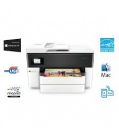 HP Officejet 7740 WF 22 ppm Black ,18 ppm couleur -   Fax -  USB Eth  Wifi